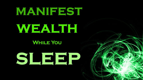 Manifest WEALTH ~ SLEEP MEDITATION ~ Wealth While You SLEEP