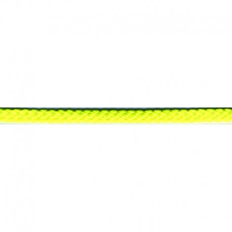 Neon Yellow Polyester Drawstring Cording - By the Yard