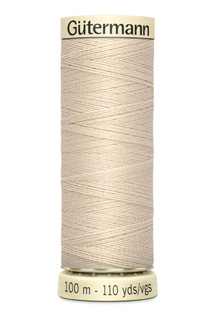 Gutermann Sew-All Polyester Thread 100m - Bone 030