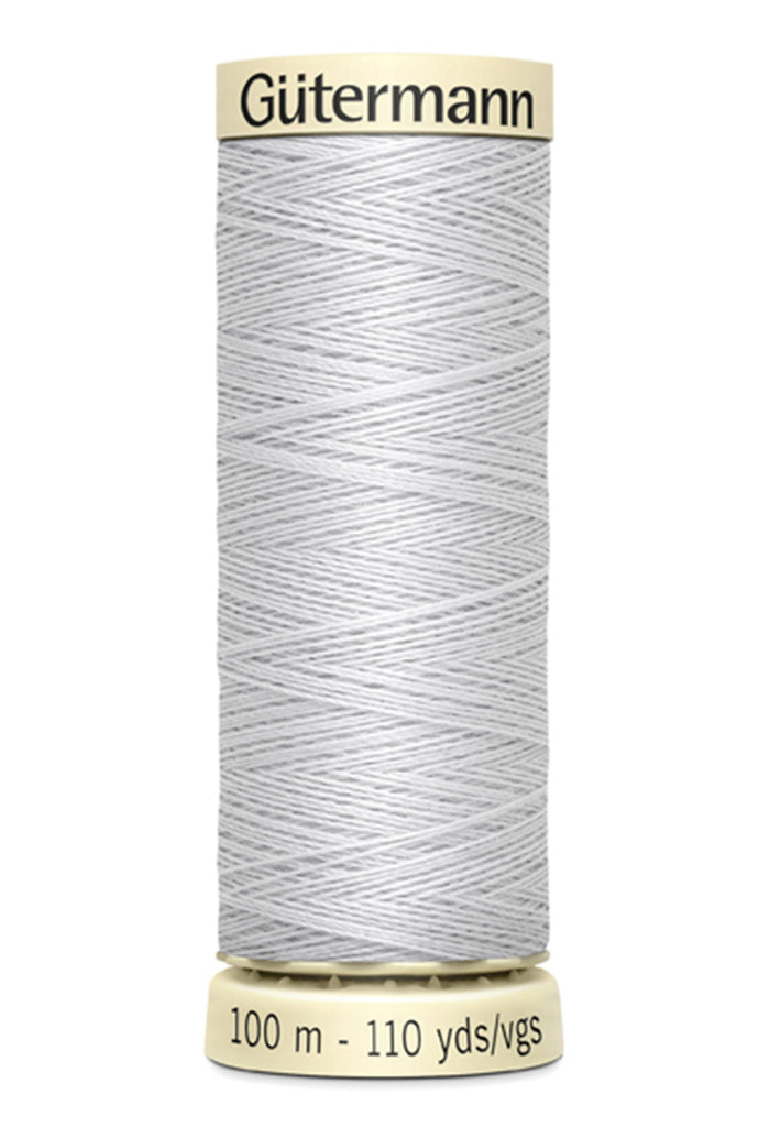 Gutermann Sew-All Polyester Thread 100m - Silver 100