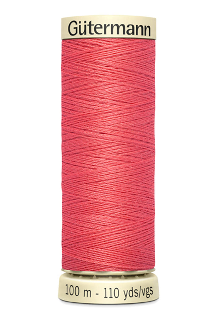 Gutermann Sew-All Polyester Thread 100m - Coral Red 378