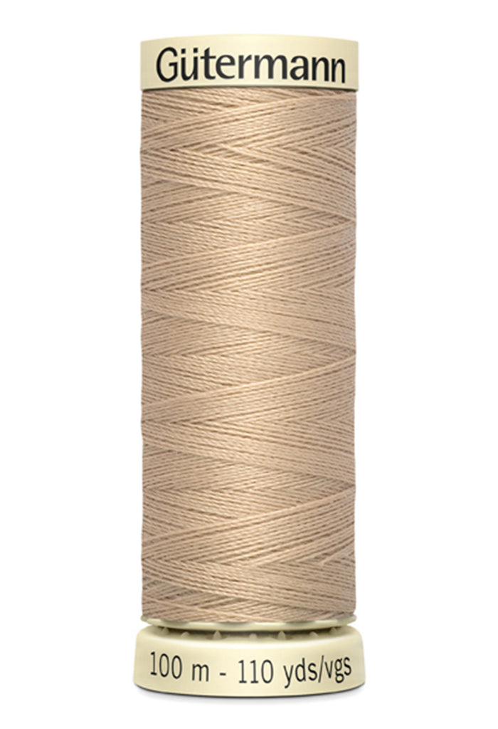 Gutermann Sew-All Polyester Thread 100m - Ecru 500