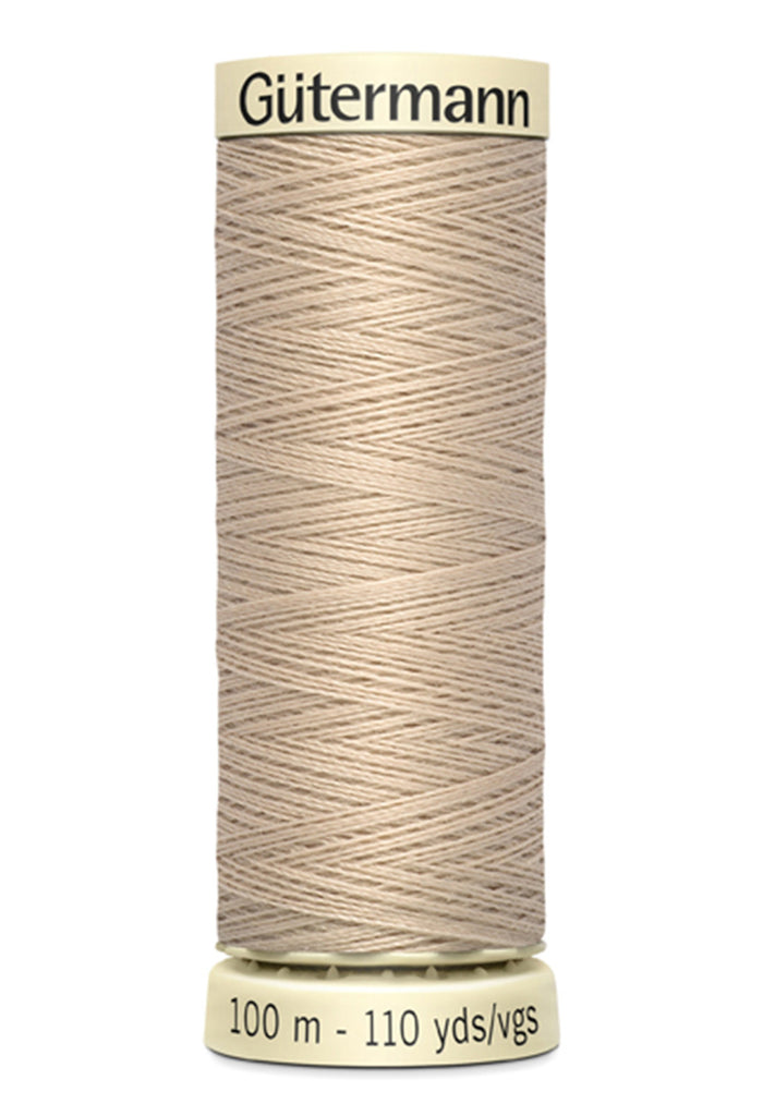 Gutermann Sew-All Polyester Thread 100m - String Beige 505