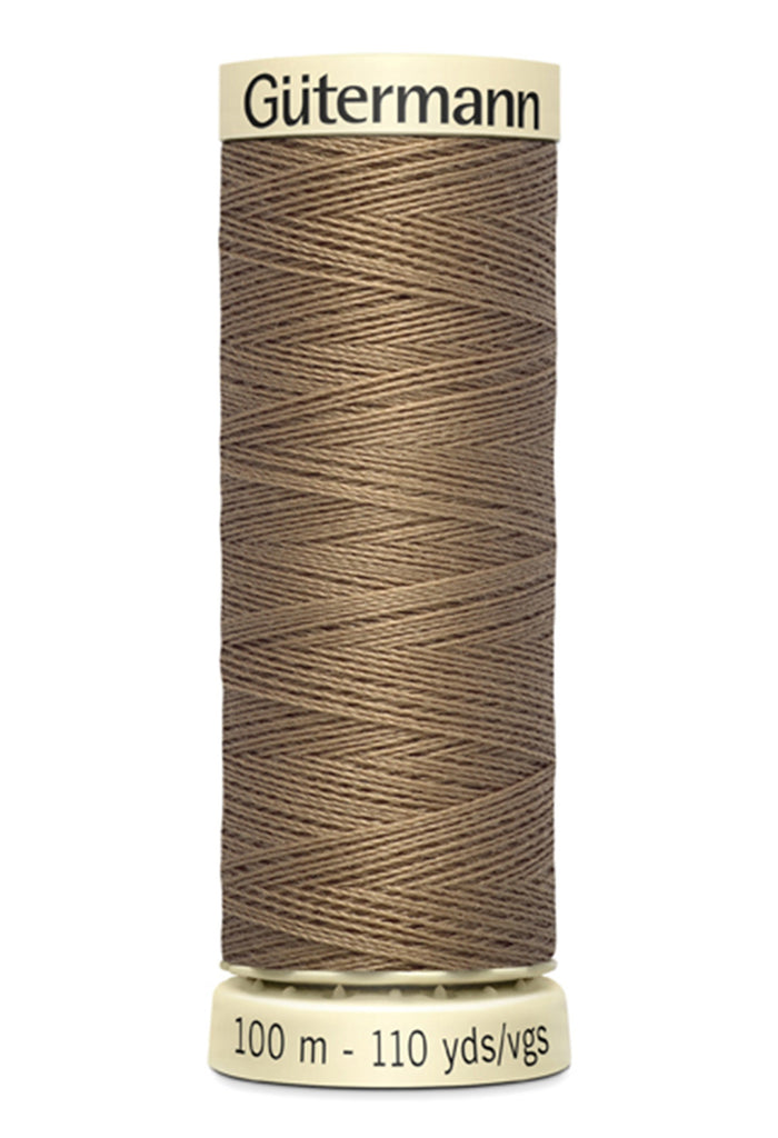 Gutermann Sew-All Polyester Thread 100m - Light Brown 542