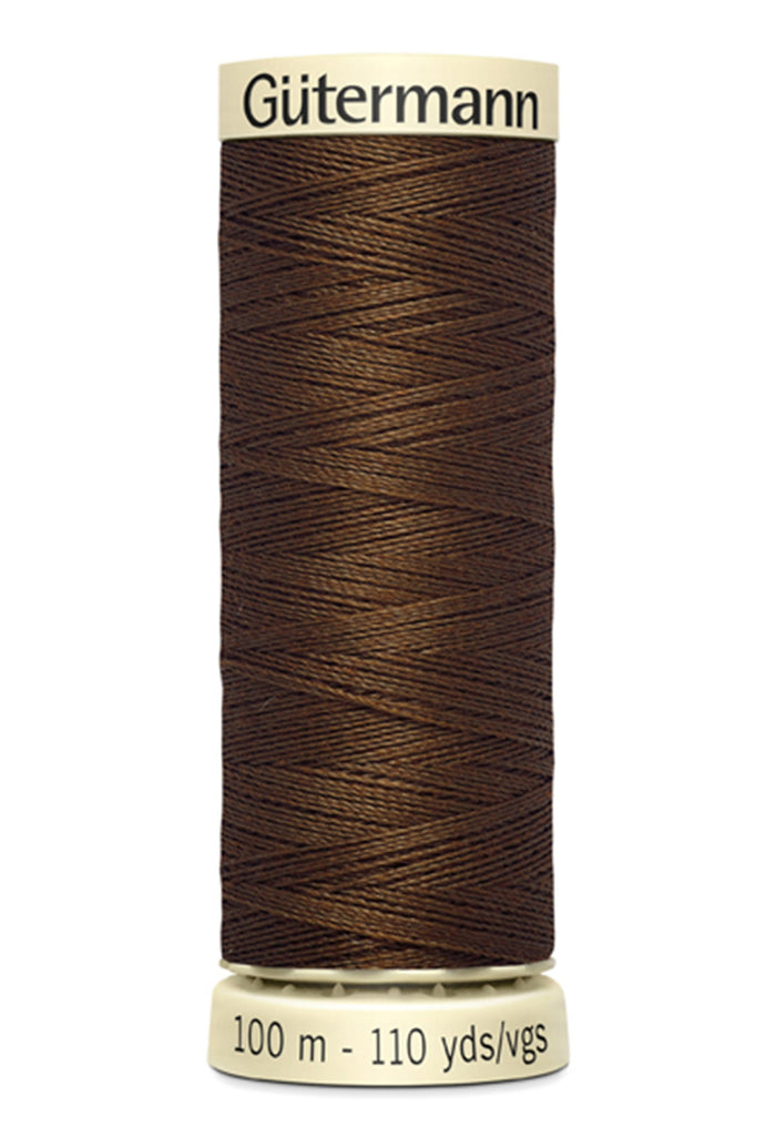 Gutermann Sew-All Polyester Thread 100m - Boot Brown 574