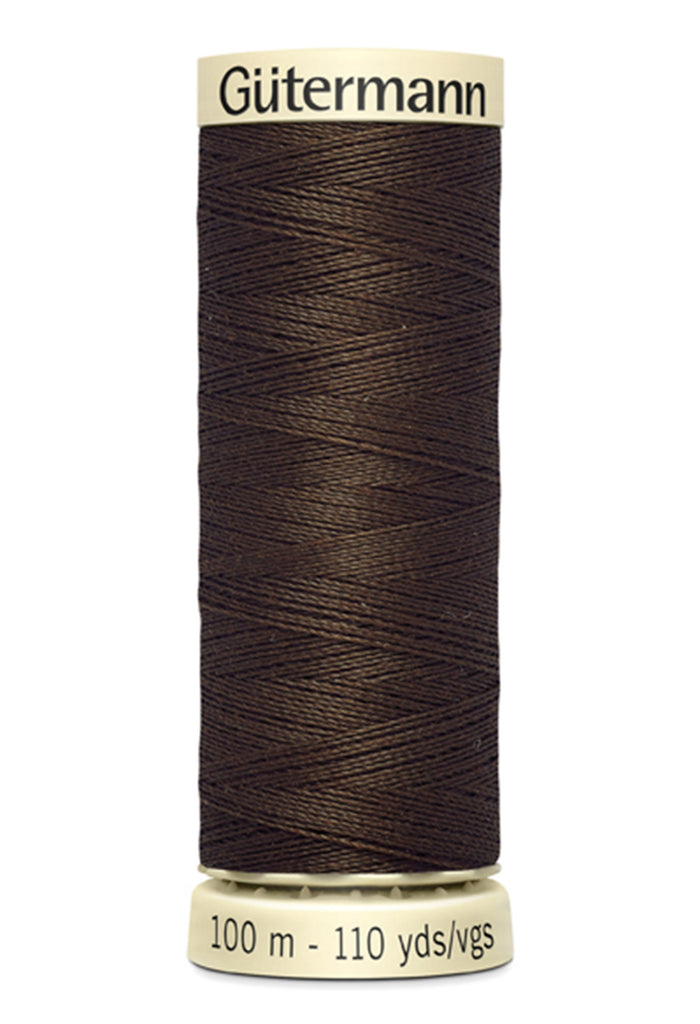 Gutermann Sew-All Polyester Thread 100m - Chestnut 595