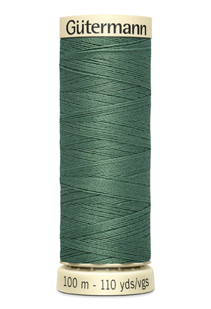 Gutermann Sew-All Polyester Thread 100m - Steel Green 646