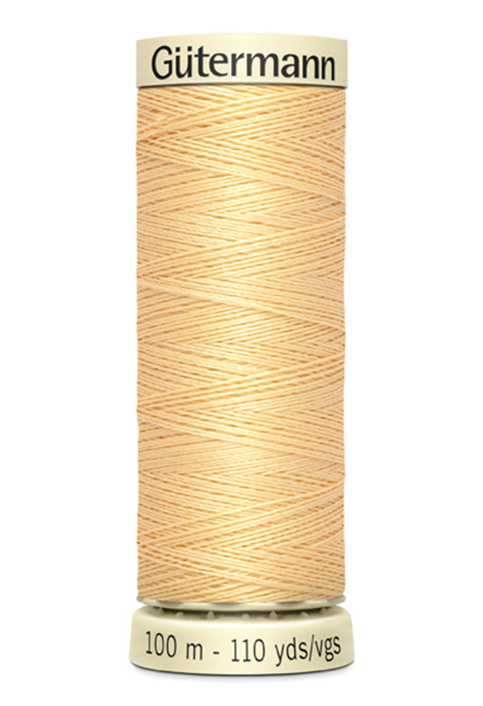 Gutermann Sew-All Polyester Thread 100m - Maize Yellow 799