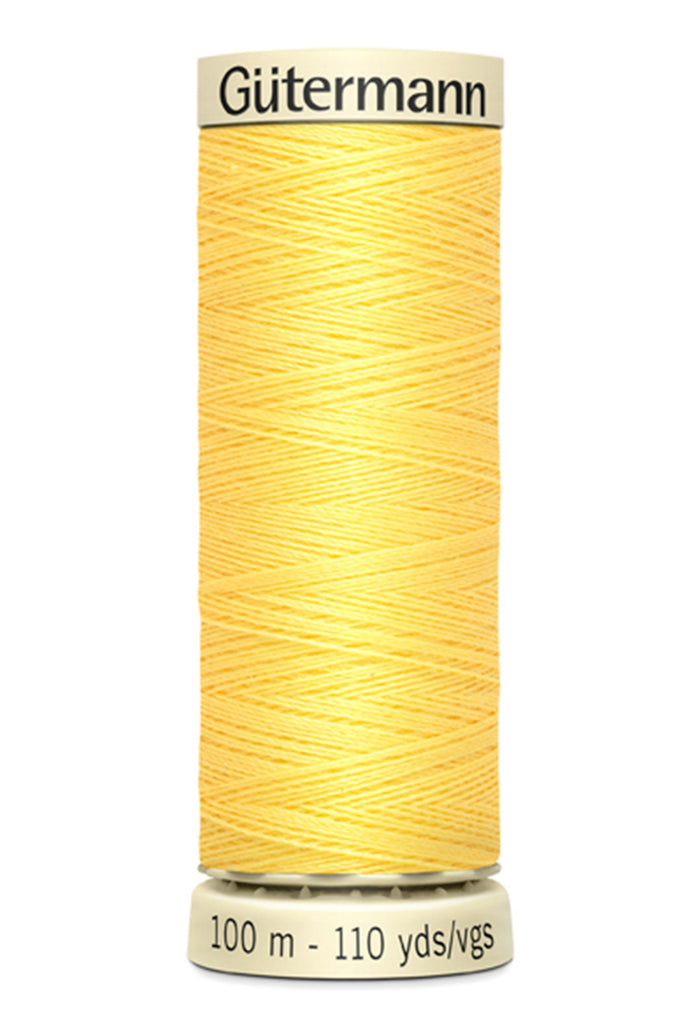 Gutermann Sew-All Polyester Thread 100m - Lemon Peel 807