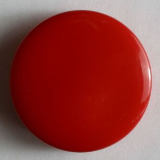 Fashion Button - 15mm - Red