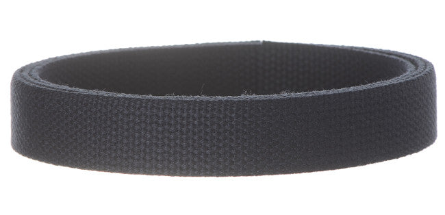 "Synthetic Cotton Canvas Webbing - 1"" Wide Dark Navy Blue"