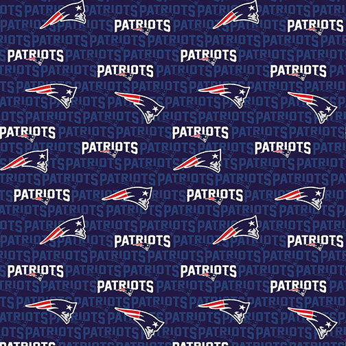 NFL - New England Patriots Cotton FTR-14500D