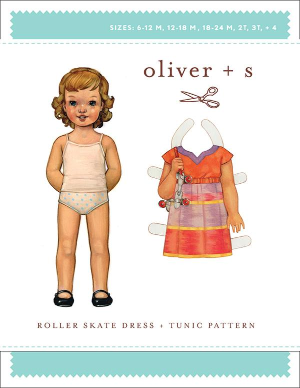 Oliver + S Roller Skate Dress & Tunic - Size 6 Month - 4 Years