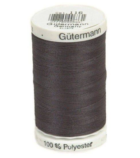Gutermann Sew-All Polyester Thread 500m - Smoke Grey 116