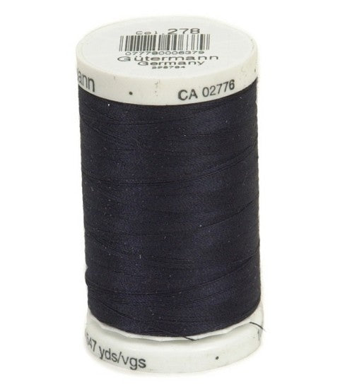 Gutermann Sew-All Polyester Thread 500m - Midnight 278