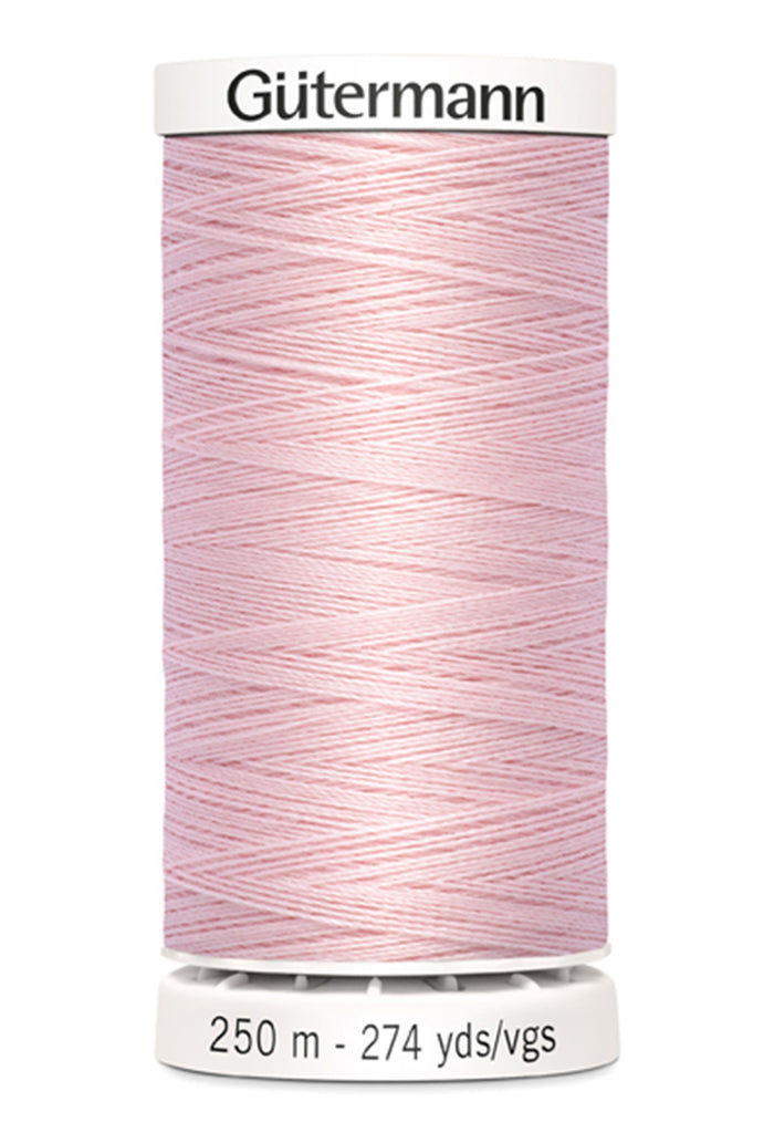 Gutermann Sew-All Polyester Thread 250m - Petal Pink