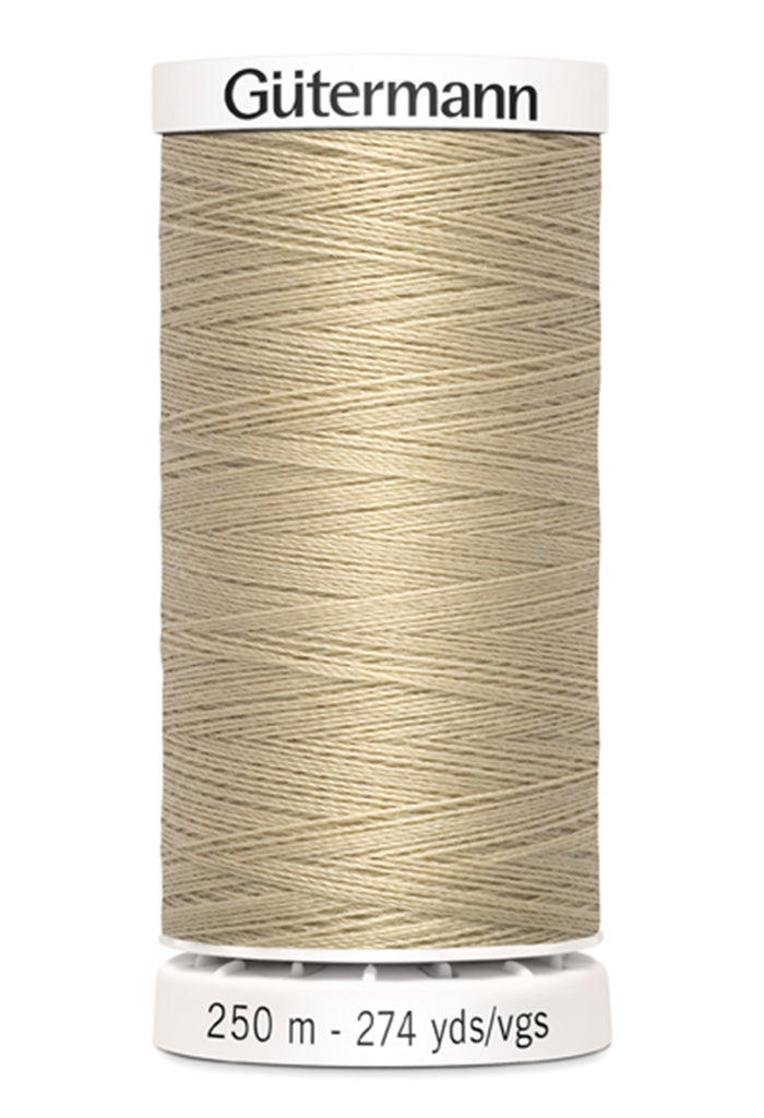 Gutermann Sew-All Polyester Thread 250m - Ecru 500