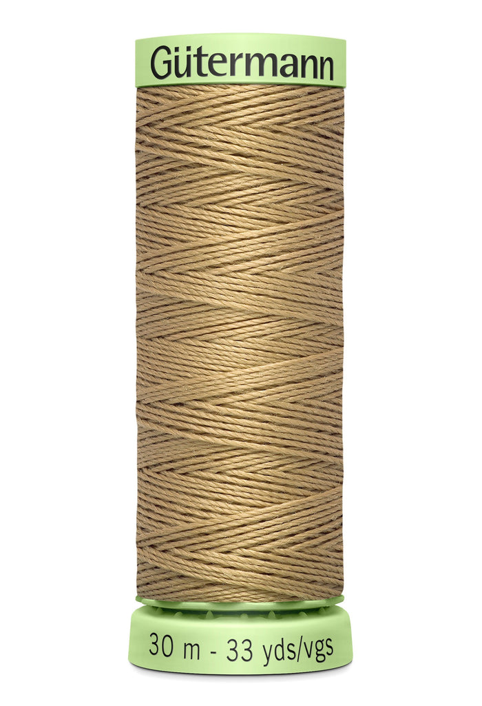 Heavy Duty Polyester Topstitching Thread 30m - Wheat 520