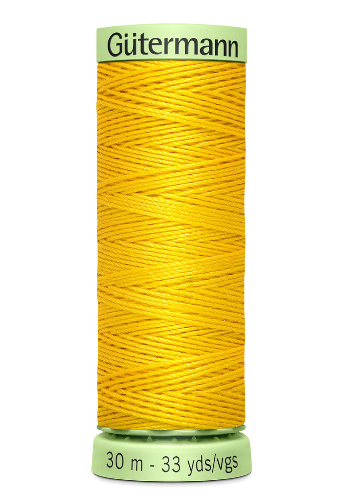 Heavy Duty Polyester Topstitching Thread 30m - Goldenrod 850