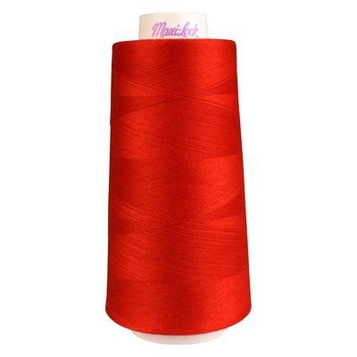 MaxiLock Serger Thread - ARTILLERY RED