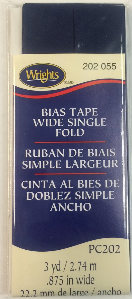 Bias Tape Wide Single Fold 22mm x 2.75M