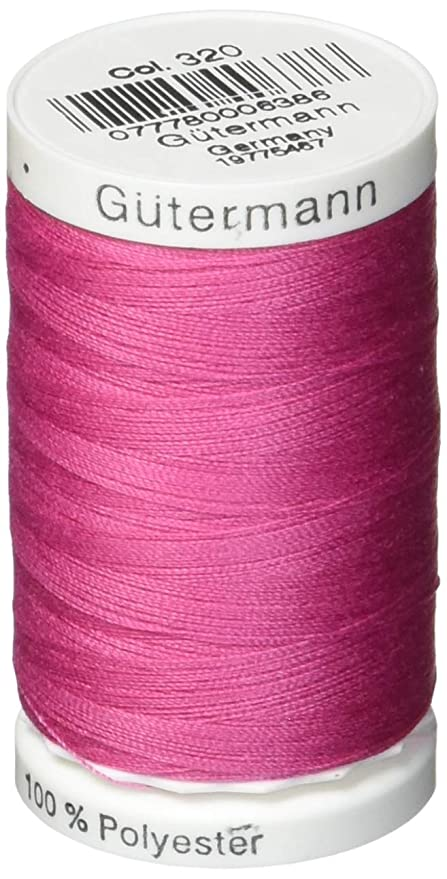Gutermann Sew-All Polyester Thread 500m - Dusty Rose 320