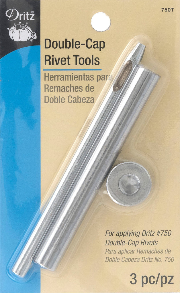 Double-Cap Rivet Tools Nickel