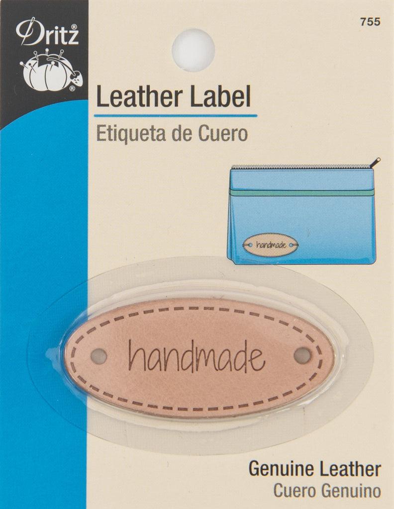 Leather Label - Handmade