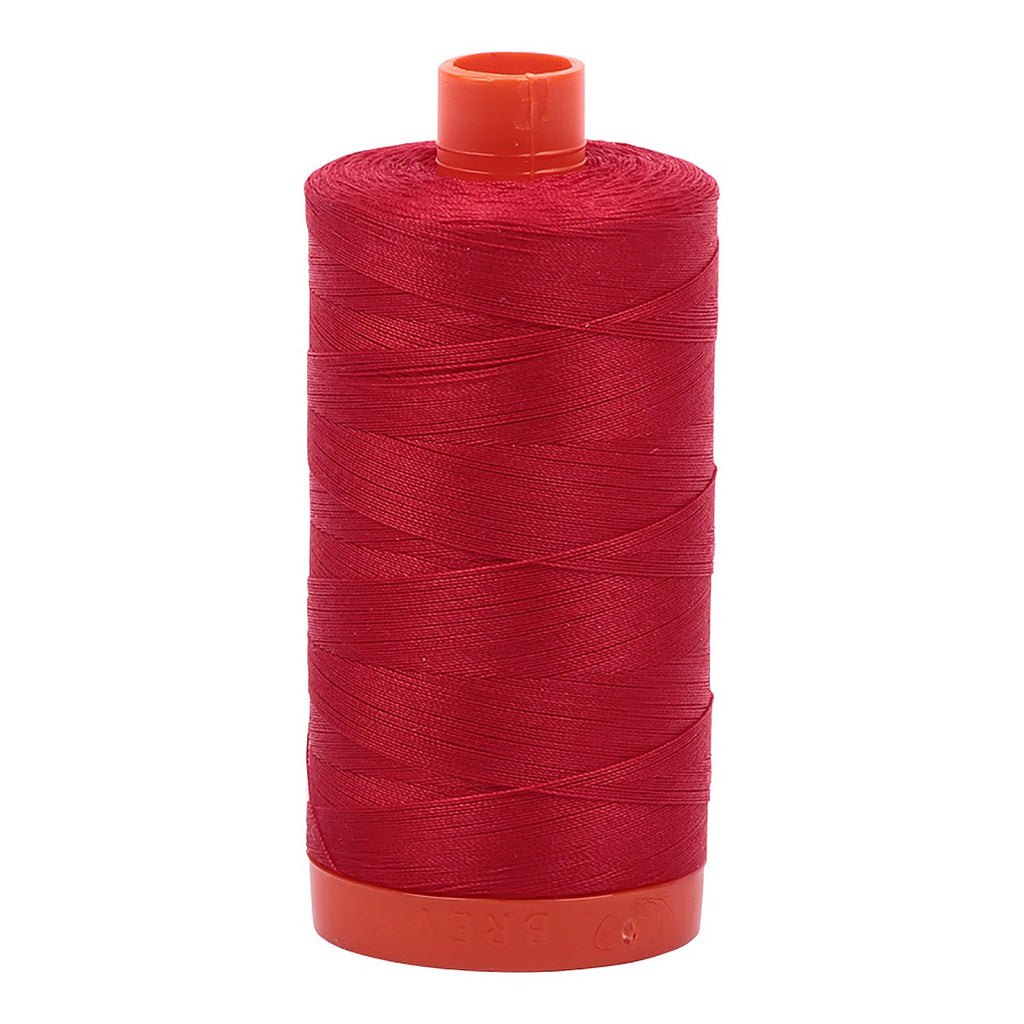 AURIFIL Cotton Thread Solid 50wt - Red (2250)