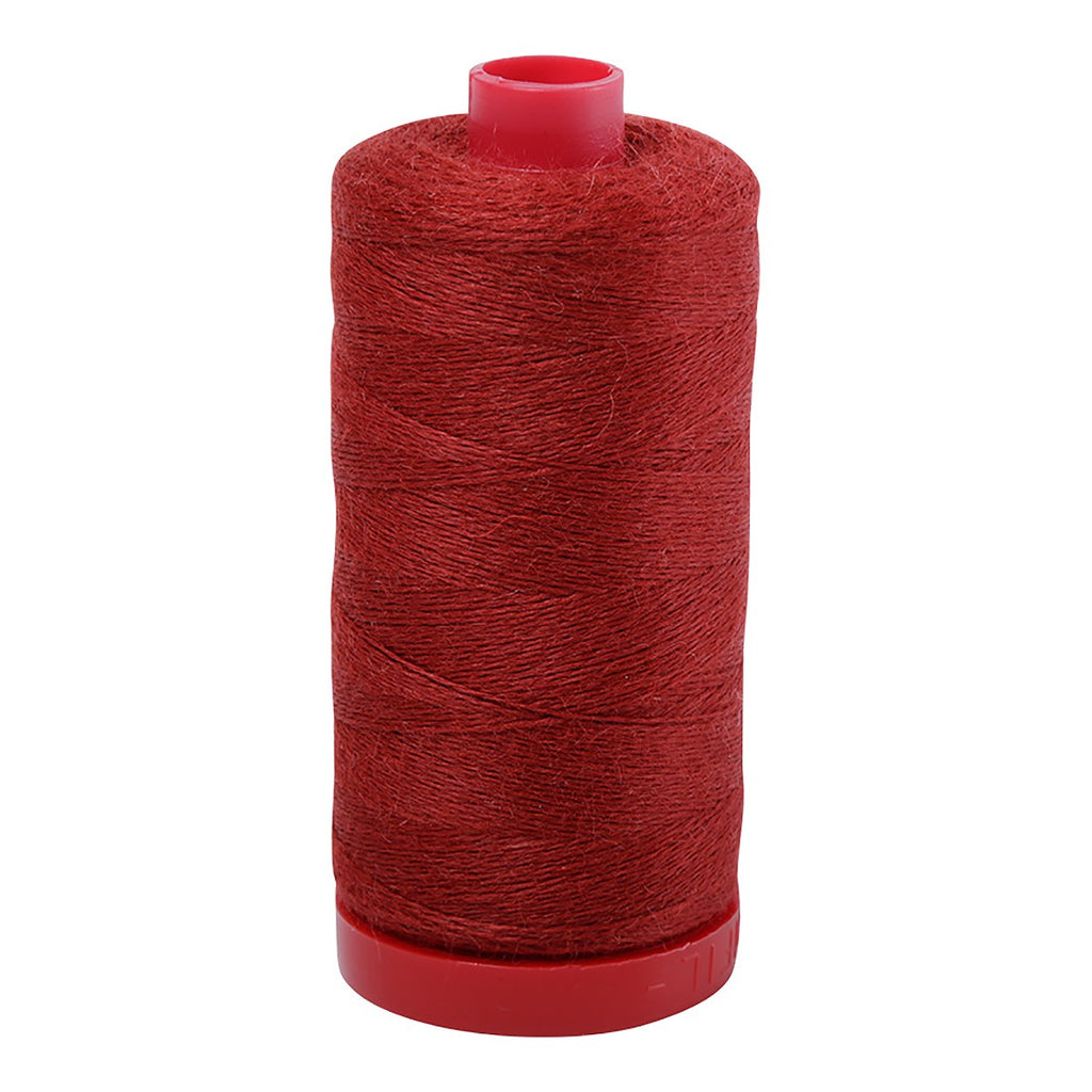AURIFIL Lana Wool 12wt 386yd BURNT CRIMSON (8264)