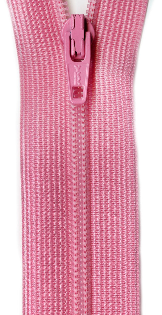 Beulon Polyester Coil Zipper 14in - Pink