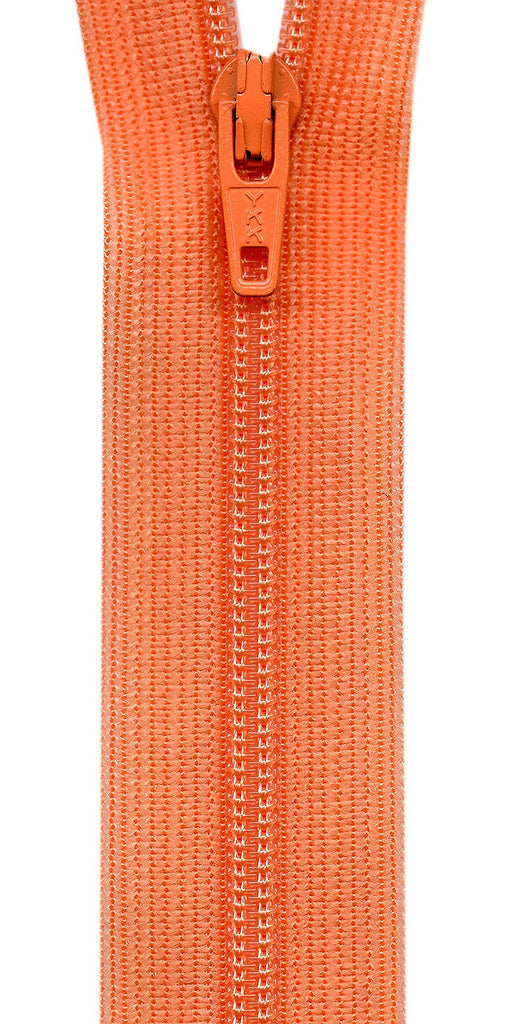 Beulon Polyester Coil Zipper 14in - Apricot
