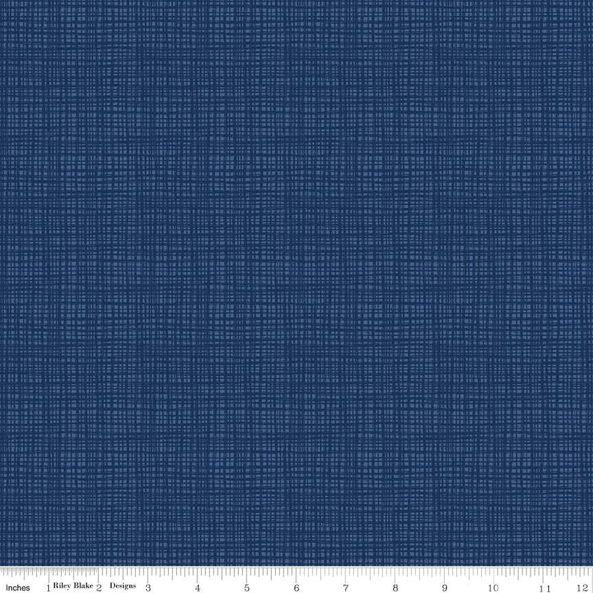 Texture Navy by Sandy Gervais for Riley Blake Design