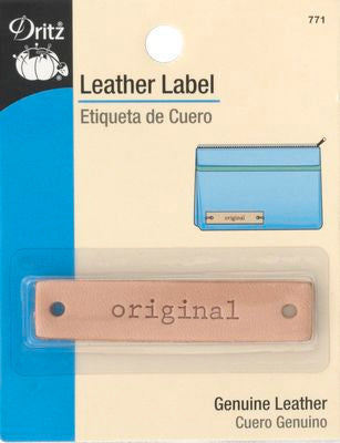 Leather Label - Original