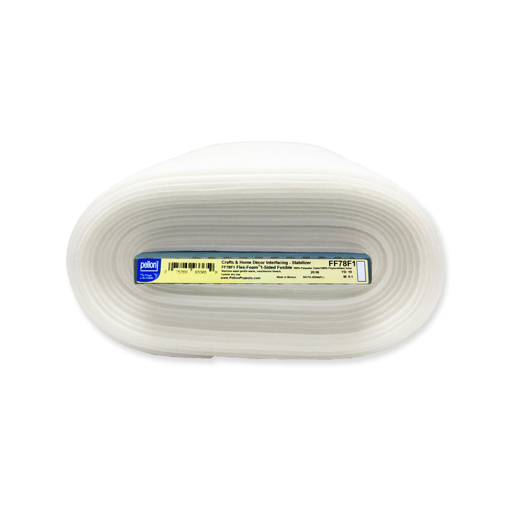 Pellon FF78 Flex-Foam™ 1 Sided Fusible - By the yard
