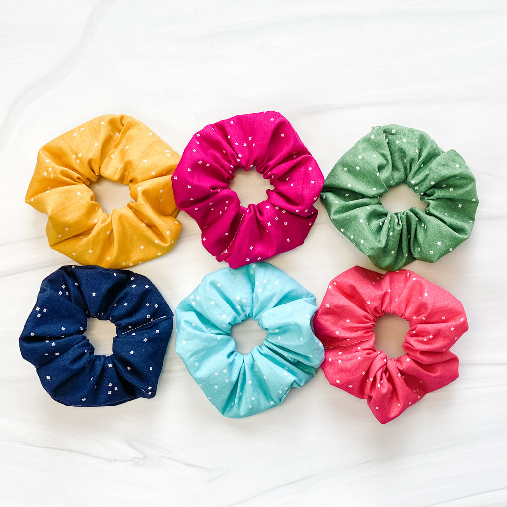 Scrunchies! - Downloadable PDF Pattern & Video Tutorial
