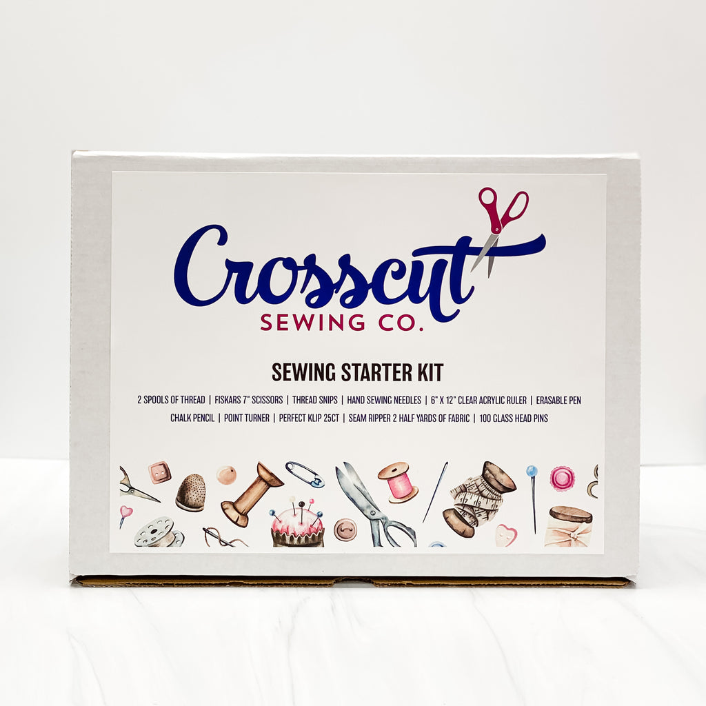 Crosscut Sewing Sewer Starter Kit