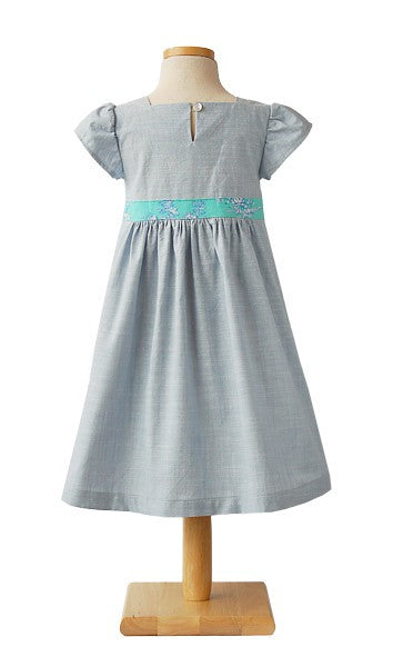 Oliver + S. Garden Party Dress & Blouse Pattern by Liesl + Co. - Size 6M - 4 Years