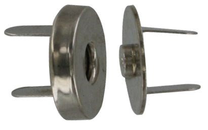 "3/4"" Nickle, Magnetic Snap, Steel"