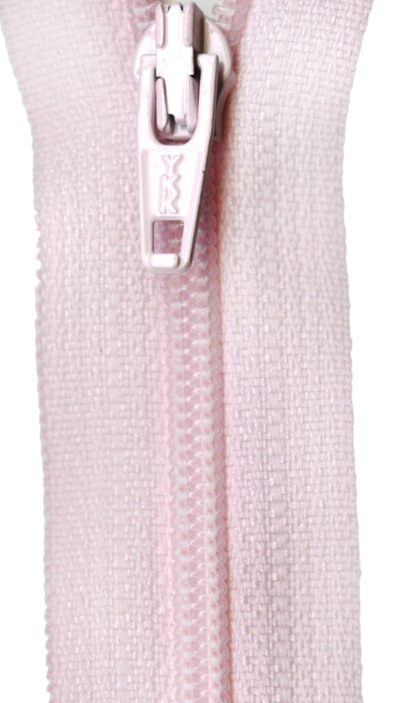 Ziplon Coil Zipper 14in - Cotton Candy Pink