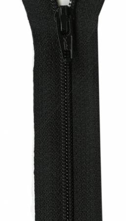 All Purpose Zipper 22in - Black