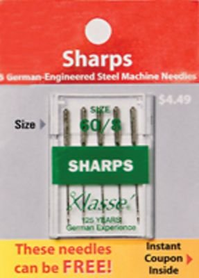 Klasse Sharps Needles 60/8