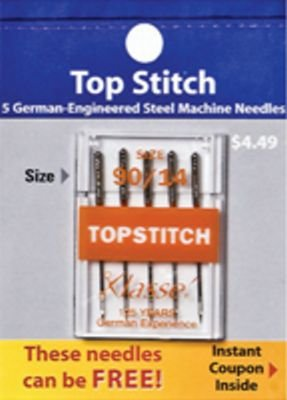 Klasse Top Stitch Needles 90/14