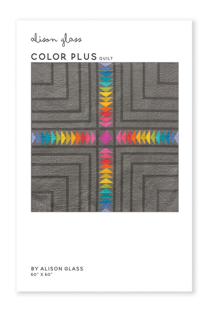 Alison Glass Quilt Pattern - Color Plus