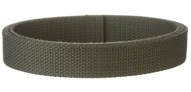 "Synthetic Cotton Canvas Webbing - 1"" Wide - Olive"