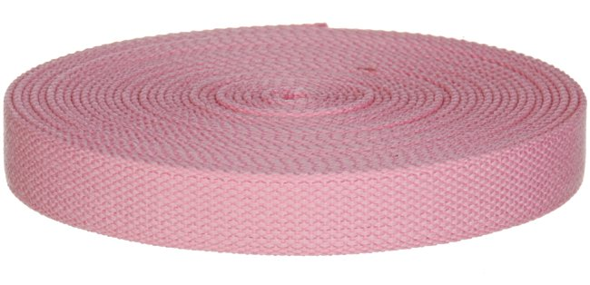 "Synthetic Cotton Canvas Webbing - 1"" Wide - Pink"