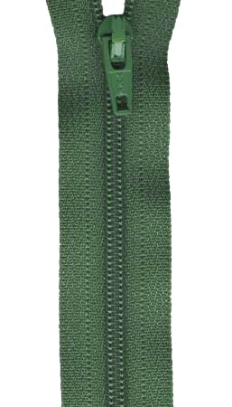 All-Purpose Zipper 10in - Forest Green