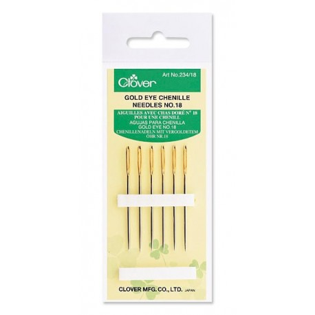 Gold Eye Chenille Needles No. 18