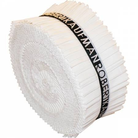 Kona® Cotton Jelly Roll Up, White