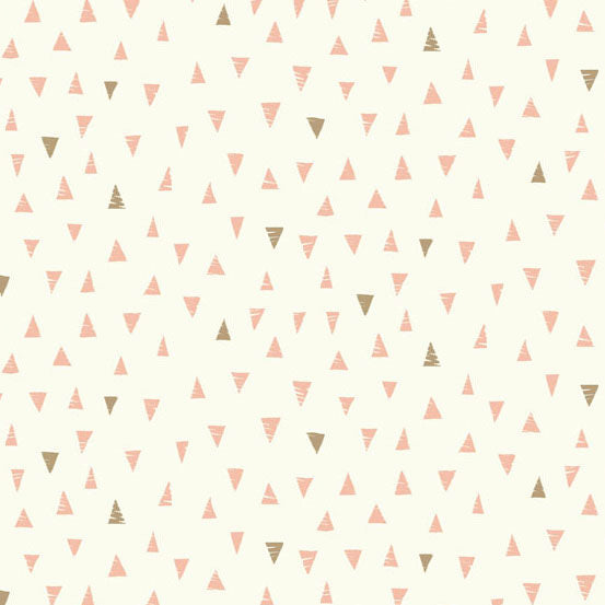 Doodle Day TRIANGLES PINK from Andover Fabrics